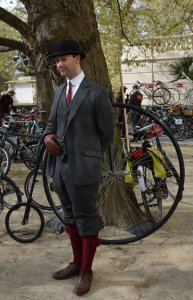Penny Farthing Gent