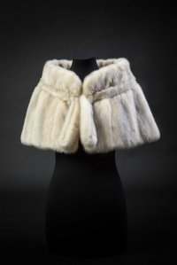 low Norman Rogul fur stole for Princess Margaret 1950s - image credit = Historic Royal Palaces (c) Lord Linley & Lady Sarah Chatto